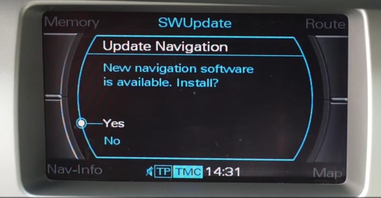Audi A4 Mmi 2g Navigation Dvd Eastern Europe 2019 Download